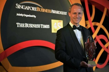 Heinrich Jessen is Businessman of the Year
